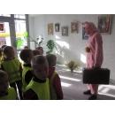Pūcītes skoliņas bērni dodas uz bibliotēku ''Libris''